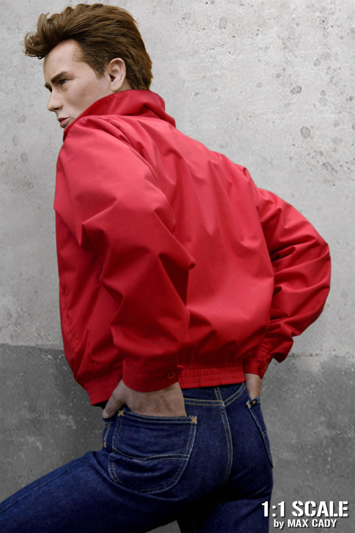 325bc8a1d REVEL WITHOUT A CAUSE Red Nylon Jacket