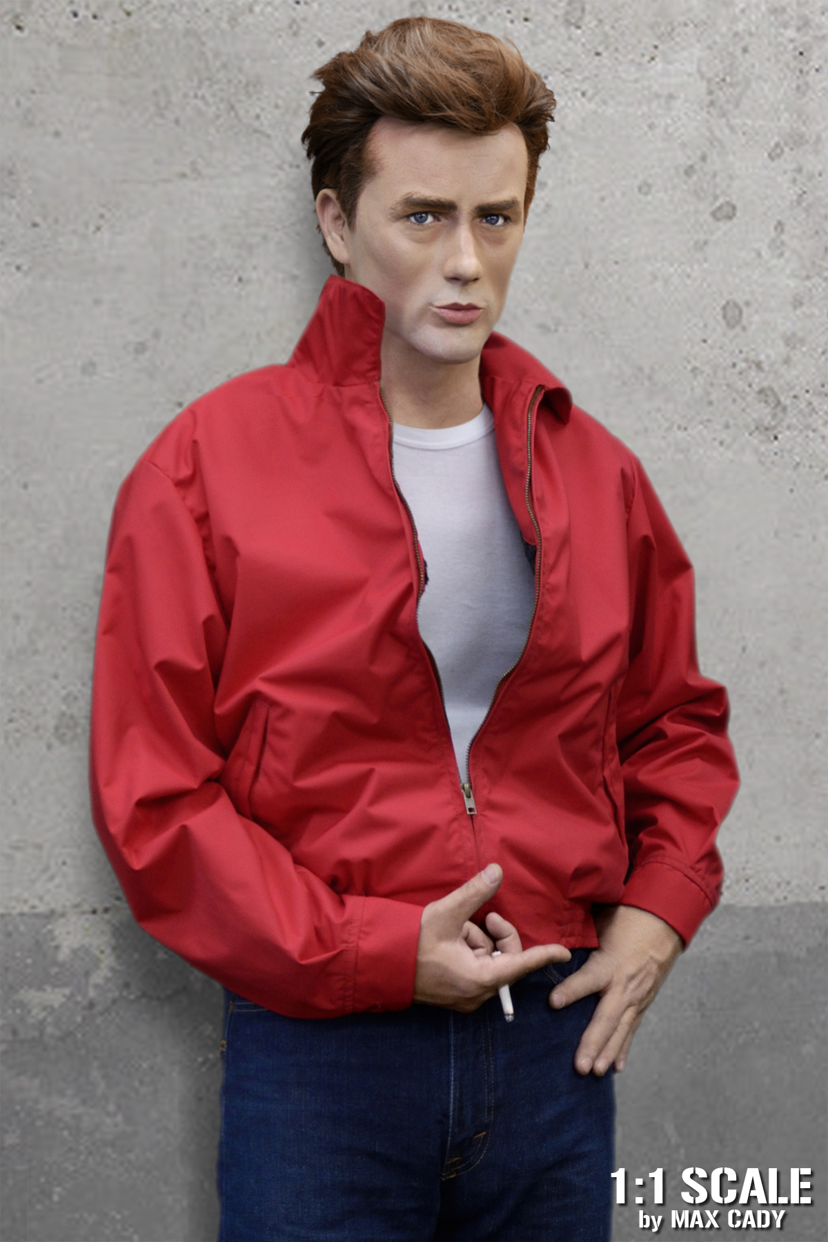 What Color Is Antifreeze >> REVEL WITHOUT A CAUSE Red Nylon Jacket