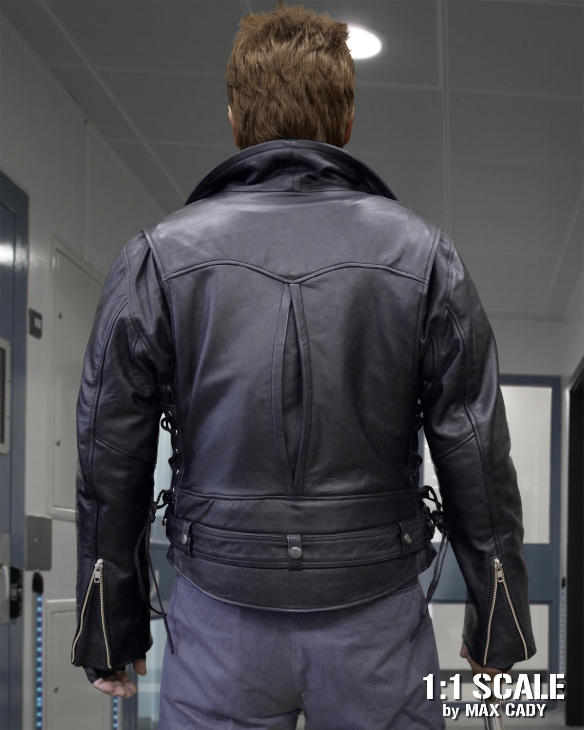Terminator Leather Jacket Max Cady