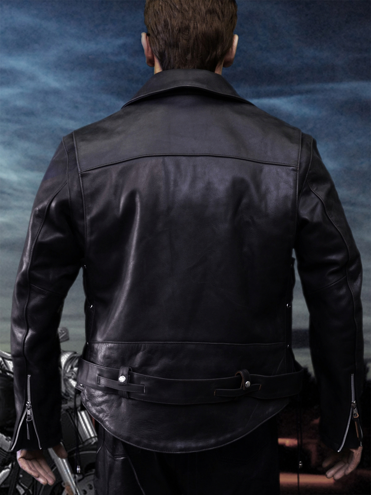 01a33deae Terminator 2 Leather Jacket - MAX CADY