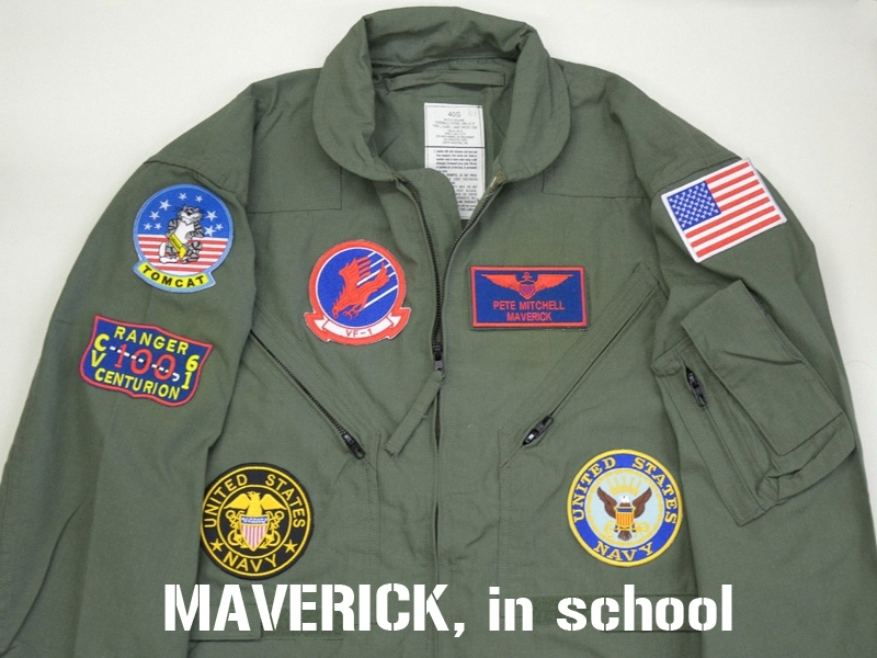 Topgun Patches For Flight Suit Max Cady
