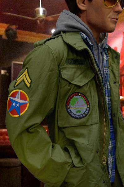TOPGUN G-1 Leather Flight Jacket - MAX CADY